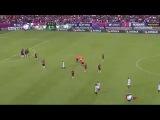 Гол Роналдиньо за Керетаро со штрафного в ворота Атласа - 30/09/14