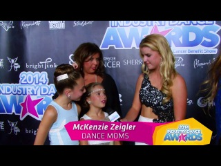 Abby Lee Miller, Maddie and Mackenzie Zeigler at the Industry Dance Awards