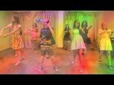 Танец флеш-моб под песню «Улыбайся», 3 смена 2014