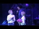Сестры Толмачевы и Филипп Киркоров  (концерт в Курске)