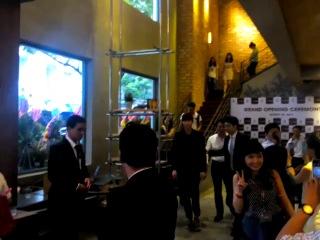 [140824]  Lee Jong Suk @ Caffe Bene Grand Opening