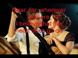 Celine Dion My Heart Will Go On original karaoke