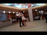 Танец молодых)) Светлана и Сергей с танцем ча-ча-ча в стиле Латина!)