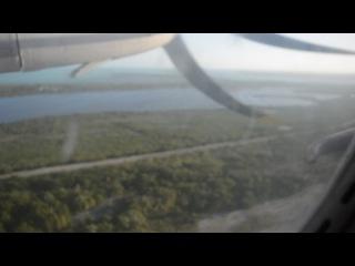 Взлет кубинского Ан-24