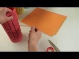 Объемная гирлянда из простой бумаги