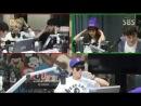 140730 Aron, Minhyun, Baekho (NU'EST) @ K.Will's Youngstreet Radio