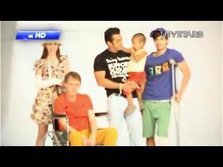 Salman Khan's Latest Being Human Photo Shoot with Brothers!! - UTVSTARS HD
