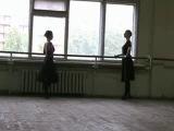 Институт Современного Искусства. Экзамен по народно характерному танцу.