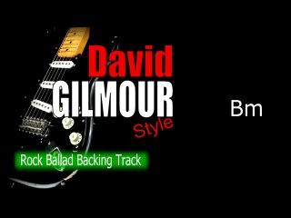 Rock Ballad David Gilmour Guitar Backing Track 67 Bpm Highest Quality