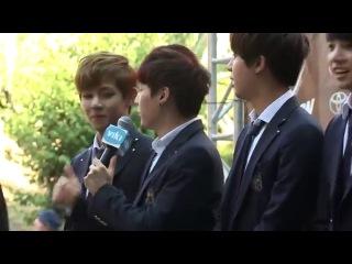 [140810] BTS on Red Carpet with Ericnam at KCON2014 (Ericnam)