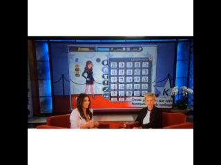 Kim Kardashian talking about Demi Lovato playing her game Kim Kardashian: Hollywood.️