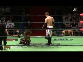 IWUTaiji Ishimori & Atsushi Kotoge vs. Ikuto Hidaka & Mineo Fujita