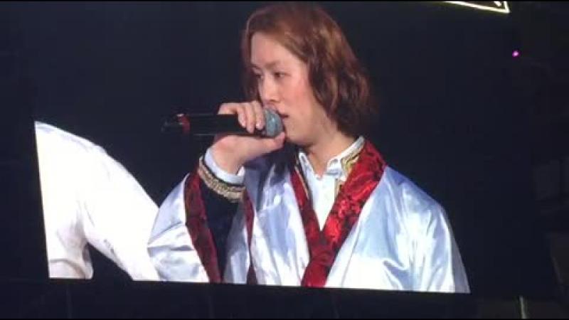 Хичоль Super Show6 Нанкин 29.03.2015 г.