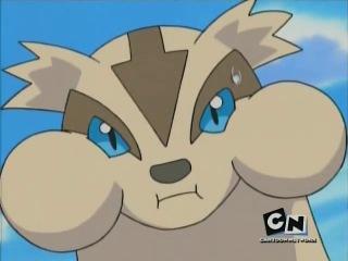 Pokemon S08 Capitulo 20-La revelación de Linoone