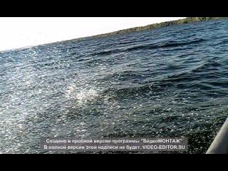 Катание на Днипре на лодке Крым