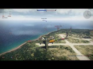 War Thunder [1.35]. Ki-45 otsu Toryu. Акции такие акции. Episode # 3.