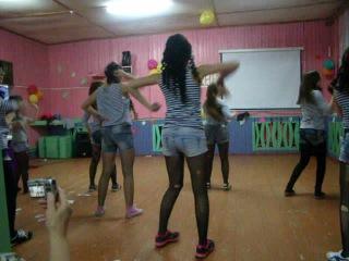 танец разбойников, танец на осенний бал