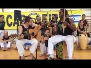 Mestre xuxo's new song Eu vim no mar de Angola Israel 22.08. 2014
