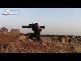 Сирия. выстрел из BGM-71 «Тоу» по Армейской РЛС в г. Деръа