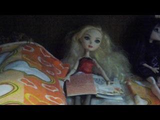 2 часть моего домика для кукол Ever After High и Monster High