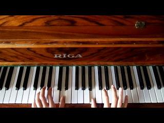 мелодия из к/ф Хатико на пианино
