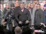 Mike Tyson vs. Lennox Lewis - драка на пресс-конференции