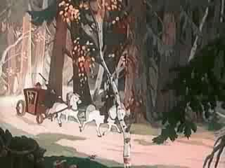 Мультфильм 'Чудо мельница' по мотивам русской народной сказки (1950 г.)
