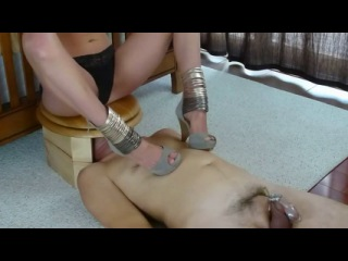 Extreme cumming in chastity 2