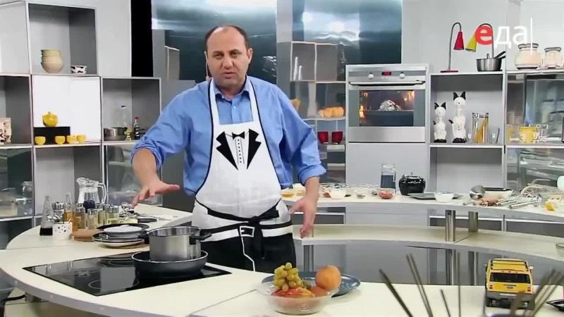 Цыпленок табака Обед безбрачия с Ильей Лазерсоном