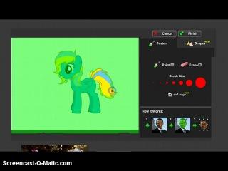 Видео Урок.ОТ:Капельки Грейн(Как сделать пони гриву космос и т.д.)