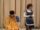 Артур и Фатима Кидакоевы - Парикмахерша