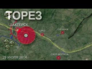 Боевая сводка Новороссии. Последние новости Украины сегодня, Донецк, Луганск. 29.07.2014