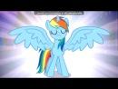 «Со стены Радуга Деш(Рейнбоу Деш)» под музыку Мои маленькие пони - Радуга Деш. Picrolla