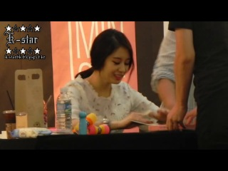 [FANCAM] 140614 Jiyeon @ IFC Mall Fan Signing Event