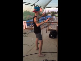 Pepper Cats on the deck/Azov Fest 2014/ 08 am ))
