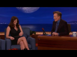 CONAN SHOW: Gemma Arterton Was Almost A Bond Girl AND Mary Poppins