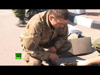03 авг. 2014 - Группа украинских военных попросила убежища на погранпункте в Ростовской области.