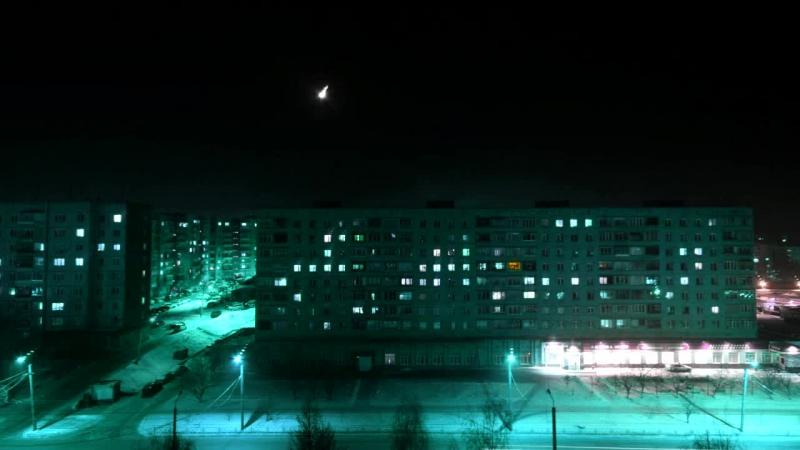 луна в полночь