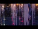 :-) Девочка Амина и цветной, поющий фонтан. :-) 30 августа 2014 г. Парк им. Горького, г. Казань