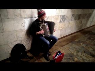 (Баян кавер) Играет Алексей Касперович - 1.Scorpions - Wind of Change; 2.Metallica - The Unforgiven.