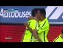 Чемпионат Испании-2015. 11-тур. Альмерия 1:2 Барселона Гол Альба 08.11.2014