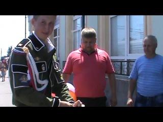 Александр и Татьяна....Встреча любимого из армии ДМБ 2014...
