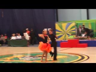 атино-американская программа.Танец джайв.Партнёр:Шмонин Егор.Партнёрша:Космынина Юлия.