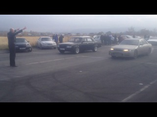ГАЗ 31029 vs Nissan skiline