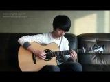 парень красиво играет на гитаре )))video.mail.ru
