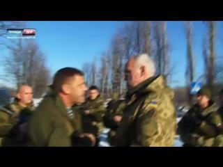Диалог Александра Захарченко с офицером ВСУ (15-01-2015)
