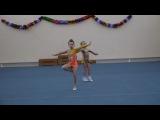 соревнования по гимнастике у Ани