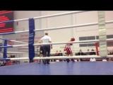 Чемпионат Москвы по Кикбоксингу бой с действующим Чемпионом Мира по К1 Виталием Кодиным (3 раунд)