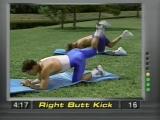 Часть 1. Упражнения для Ягодиц. 8 минут, а жжёт все ноги :-) Смотрите не пожалеете! Спорт-это сила!!
