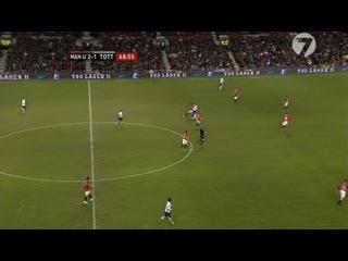 Кубок Англии 2008-09 / 4-й раунд /МЮ - Тоттенхэм (2 тайм)